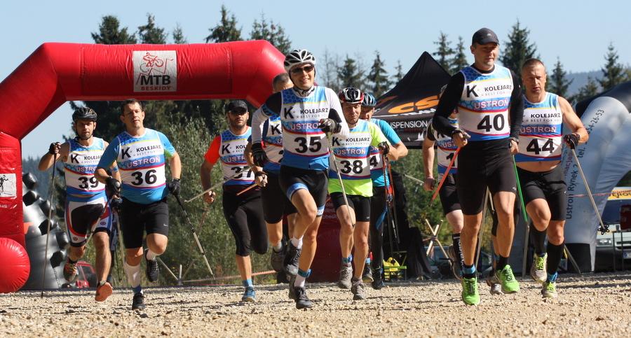Beskidzki Triatlon Górski - Istebna 2017